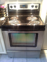 Cuisinière/ Stove Whirlpool stainless