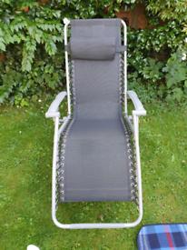 Garden chair / sun lounger