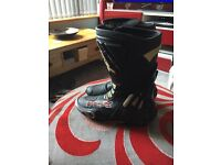 TCX Competizione motorcycle boots