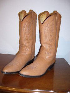 Men's Crazy Horse Western Boots