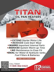 Engine Oil Pan Heater Pads