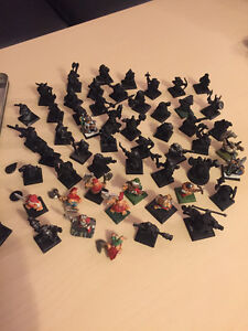 Collection of RARE Warhammer figurines
