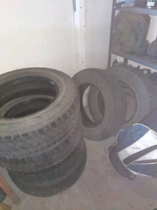 Six 205/70R15 Tires - lots of tread
