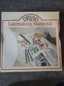 Vintage Lacemaking Craft Set