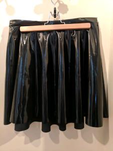 Black Milk PVC Skater Skirt