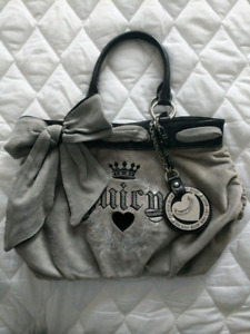 Juicy Couture Grey Velour Tassel Daydreamer