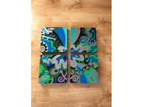 Set of 4 Acrylic Paintings