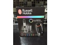 **RUSSELL HOBBS ILLUMINA HAND BLENDER BRAND NEW IN BOX**