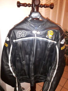 MEN'S MOTORCYCLE JACKET - JOE ROCKET #69 NICKY HAYDEN