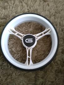 Qwik fold 2.0 golf trolley wheels