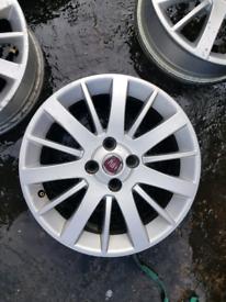 Fiat punto grande 16 inch alloy wheel set mk3