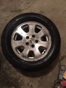 2x 2003 Honda Odyssey wheels rims and tires P225 60 R16