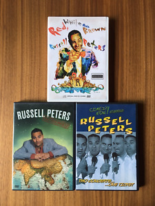 Russell Peters DVDs