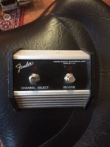 Fender foot switch West Island Greater Montréal image 1