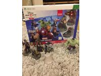 Disney Infinity 2.0 Super Hero starter pack plus extras.