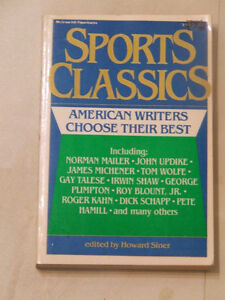 Sports Classics -- American Writers Choose Their Best