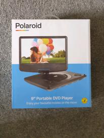 Portable DVD Polaroid player