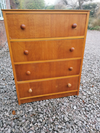 Modern solid Chest of Drawers mid century style