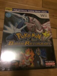 Pokemon battle revolution Wii guide BOOK new livre neuf rpg
