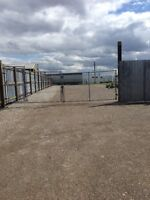 Fenced In Storage Compound For Rent