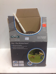 """sold""  Pet Safe Wireless Fence-Containment System"