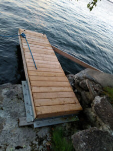 Boat Dock - 10ftX3ft Very Sturdy Great Condition Used 2 Seasons