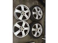 "VW ALLOY WHEELS 17"" (VW, AUDI, SKODA)"