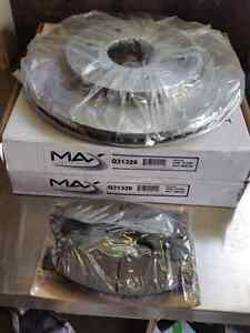 Nissan titan front rotors and pads