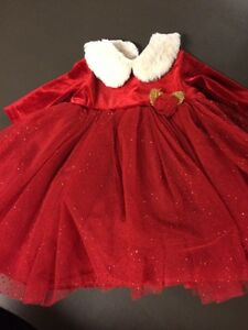 0-3m Christmas dress Regina Regina Area image 1