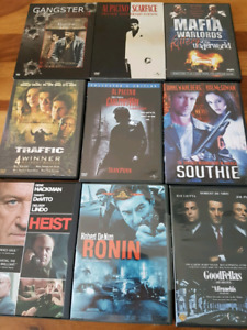 10 Gangster/Mafia movie collection on DVD