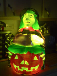 Halloween Blow Mold Witch