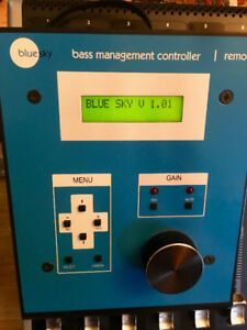 Blue Sky BMC-Bass Management Controller