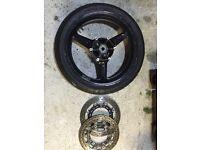 R6 5eb front wheel