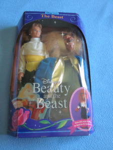 1991 The Beast Doll  - Disney's Beauty and The Beast - Mattel  #