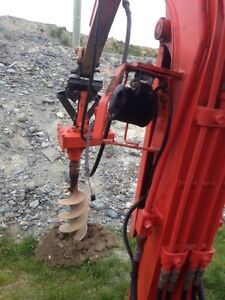 POST HOLES Done Auger or Bucket St. John's Newfoundland image 3