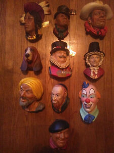 Lot of 8 Bosson heads