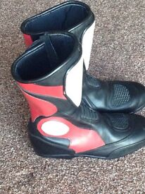 Kids children's motorcycle race boots size 38 (5)