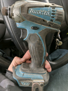 Makita 18v drill and impact and dewalt scope