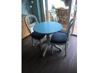 Bristo table and Two Chairs
