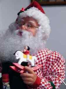 Christmas Painting Santa Claus Rare find London Ontario image 3