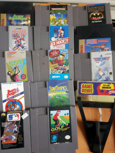 Nes snes and n64 games