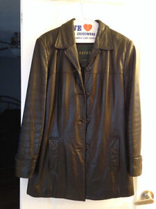DANIER LEATHER JACKET SIZE M Women's