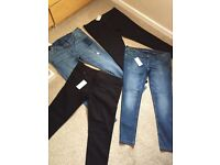 BRAND NEW NEXT MATERNITY JEANS SIZES 8-16 AVAILABLE