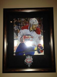Pacioretty Signed Puck with Frame Cornwall Ontario image 1