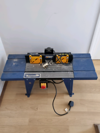 Bosch router + router table.