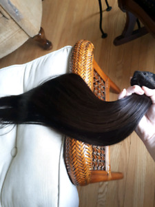 Human hair 20 inch extensions