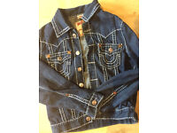 AUTHENTIC TRUE RELIGION DENIM JACKET