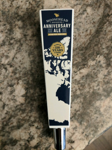 Moosehead Anniversary Beer tap handle