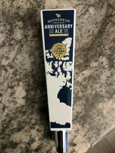 Moosehead Anniversary Beer tap handle