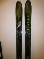 Fat skis Rossignol Bandit 94 comme neufs